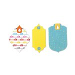 Sizzix - Where Women Cook Collection - Bigz L Die - Tags with Fruit Holes