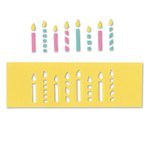 Sizzix - Where Women Cook Collection - Movers and Shapers Magnetic Die - Candles