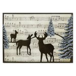 Sizzix - Winter Collection - Christmas - Thinlits Die - Card Front, Winter Deer