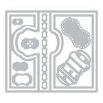 Sizzix - Framelits Die - Card, Lively Frame Flip-its