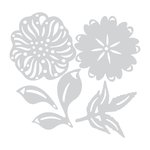 Sizzix - Prima - Flora Grande Collection - Thinlits Die - Estelle