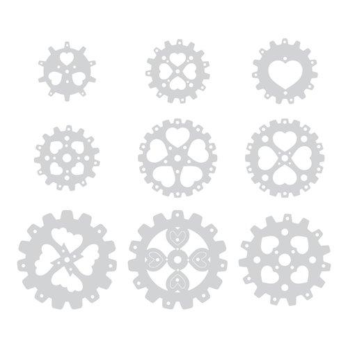 Sizzix - Prima - Flora Grande Collection - Thinlits Die - Rondeaux