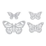 Sizzix - Prima - Flora Grande Collection - Thinlits Die - Winged Beauties