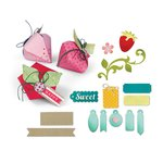 Sizzix - Thinlits Dies - Sweet Strawberry