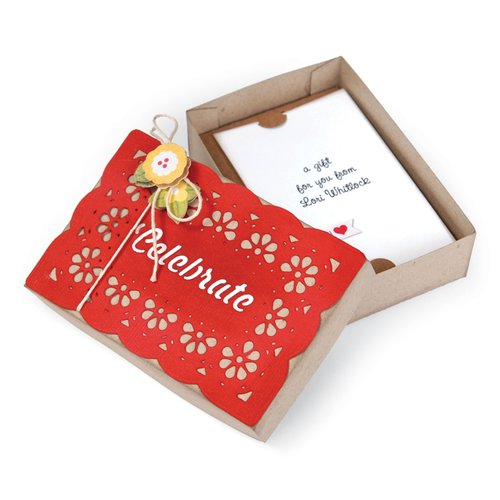 Sizzix - Bigz XL Die - Box, Gift Card