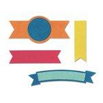 Sizzix - Echo Park - Bigz Die - Banners 2