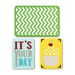 Sizzix - Thinlits Die - Birthday 2