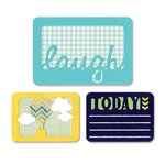 Sizzix - Thinlits Die - Laugh Today