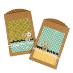 Sizzix - Jillibean Soup - Bigz Die - Pocket with Scallop Edge