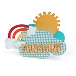 Sizzix - KI Memories - Bigz L Die - Card, Sunshine