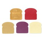 Sizzix - Where Women Cook Collection - Bigz Die and Embossing Folder - Sliced Bread