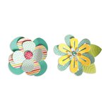 Sizzix - Thinlits Die - Simple Flowers 2
