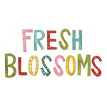 Sizzix - Homegrown and Handmade Collection - Bigz Alphabet Die - Fresh Blossoms Alphabet
