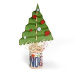 Sizzix - BasicGrey - 25th and Pine Collection - Christmas - Bigz L Die - Christmas Tree, Accordion Fold