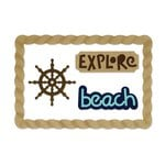 Sizzix - Life Made Simple Collection - Thinlits Die - Beach Explorer