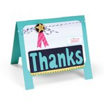 Sizzix - Life Made Simple Collection - Thinlits Die - Card, Easel
