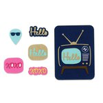 Sizzix - Life Made Simple Collection - Thinlits Die - Retro TV