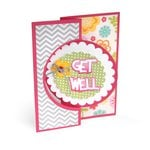 Sizzix - Framelits Die - Card, Circle Flip-its 4