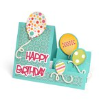 Sizzix - Framelits Die - Card, Balloons Step-Ups