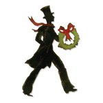 Sizzix - Tim Holtz - Alterations Collection - Christmas - Bigz Die - Festive Gent