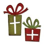 Sizzix - Tim Holtz - Alterations Collection - Christmas - Movers and Shapers Magnetic Die - Mini Retro Packages