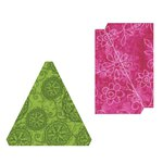 Sizzix - Fabi - Bigz L Die - Triangles, Isosceles and Right