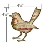 Sizzix - Tim Holtz - Alterations Collection - Bigz Die - Bird Silhouette