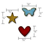 Sizzix - Tim Holtz - Alterations Collection - Movers and Shapers Magnetic Die - Tiny Shapes