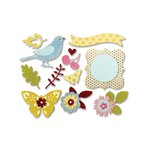 Sizzix - Favorite Things Collection - Thinlits Die - Floral Wreath