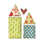 Sizzix - Homegrown and Handmade Collection - Originals Die - Houses