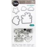 Sizzix - Framelits Die with Clear Acrylic Stamp Set - Princess 2