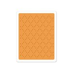 Sizzix - Textured Impressions - Embossing Folder - Quilted Diamonds 2