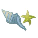 Sizzix - Bigz Die - Seashells and Starfish