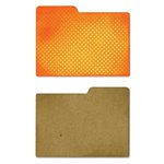 Sizzix - Jillibean Soup - Thinlits Die - File Dividers, Left and Right Tabs