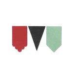 Sizzix - Echo Park - Originals Die - Pennants, Decorative 2