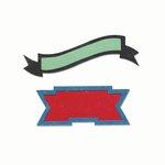 Sizzix - Echo Park - Bigz Die - Banners 3