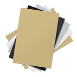 Sizzix - Inksheets - 4 x 6 Transfer Film - Assorted - 5 Sheets