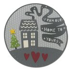 Sizzix - Let it Snow Collection - Christmas - Thinlits Die - From Our Home to Yours