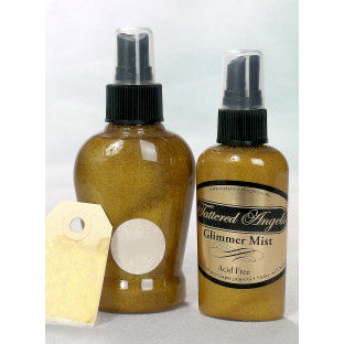 Tattered Angels - Glimmer Mist Spray - 2 Ounce Bottle - Gold