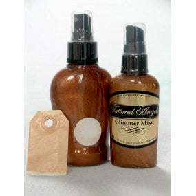 Tattered Angels - Glimmer Mist Spray - 2 Ounce Bottle - Bronze