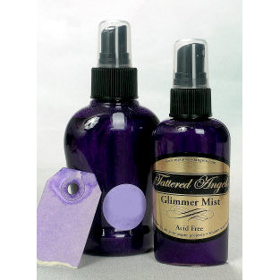 Tattered Angels - Glimmer Mist Spray - 2 Ounce Bottle - Fully Purple