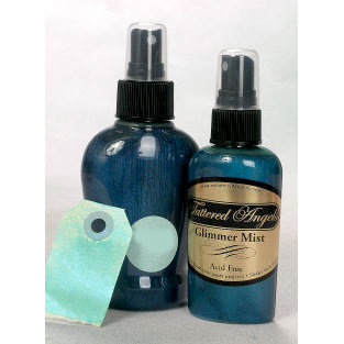 Tattered Angels - Glimmer Mist Spray - 2 Ounce Bottle - Patina