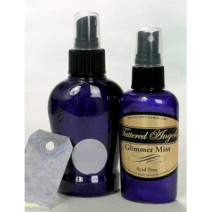 Tattered Angels - Glimmer Mist Spray - 2 Ounce Bottle - Purple Pansy, CLEARANCE