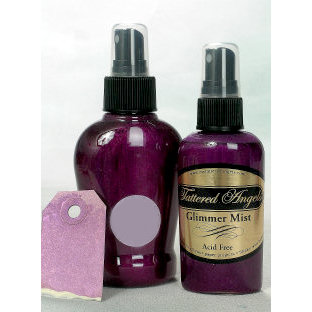 Tattered Angels - Glimmer Mist Spray - 2 Ounce Bottle - Rum Raisin, CLEARANCE