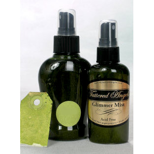Tattered Angels - Glimmer Mist Spray - 2 Ounce Bottle - Olive Vine