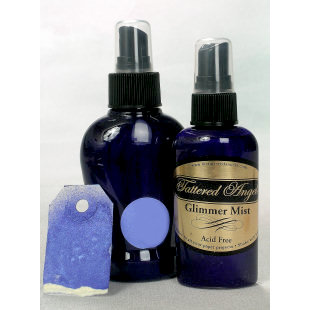 Tattered Angels - Glimmer Mist Spray - 2 Ounce Bottle - Sapphire