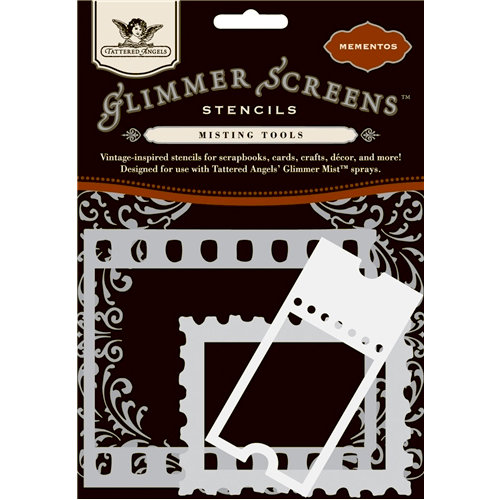 Tattered Angels - Glimmer Screen - Misting Tools - Mementos