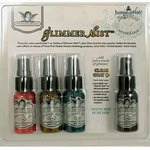 Tattered Angels - House of Three - Glimmer Mist Spray - 1 Ounce Bottles - Parisian Anthology - Set of Four