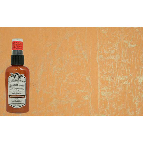 Tattered Angels - Glimmer Mist Spray - 2 Ounce Bottle - Butternut Squash