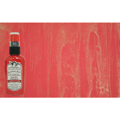 Tattered Angels - Glimmer Mist Spray - 2 Ounce Bottle - Red-Nosed Reindeer